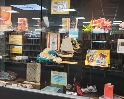 U3A Healesville Display at the Library